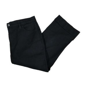 NYDJ Not Your Daughters Black Capri Jeans Size 12
